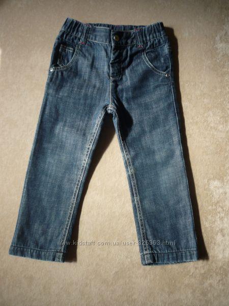 Наши джинсики, вельветики от Chicco