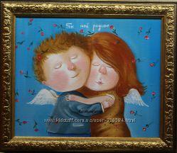 Продам красивую копию картины Евгении Гапчинской