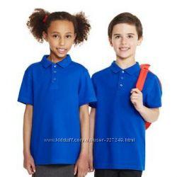 Синие футболки-поло в школу George Англия