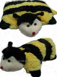 Мягкая игрушка подушка на липучке в ассортименте