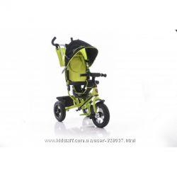 Велосипед трёхколёсный новый Lamborghini на резиновых колёсах и пене-резине