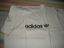 Футболка. adidas. копия. цвет молочный