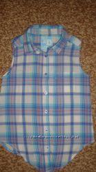 рубашка девочке, р. 9-10 лет