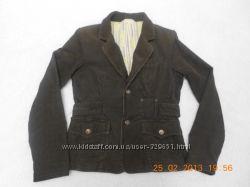 Стильный вельветовый пиджак Colins