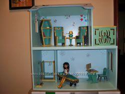 Кукольный домик для кукол Монстер Хай с мебелью. - 2