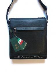 Качественная мужская сумка через плечо POLO