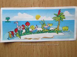Продам игрушки киндер Остров стеночка