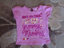 футболка на девочку 12-18 мес. фирма Marks&Spencer