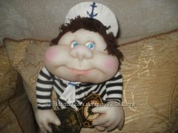 Морячек кукла-попик