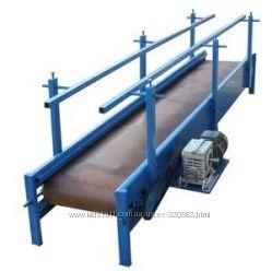 Ленточный конвейер, лотковый питатель, шнек, сеялка сыпучих материалов