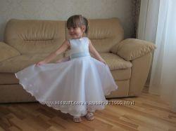 пошив детских праздничных платьев