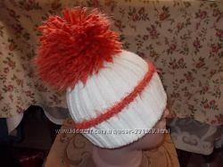 Красивая шапка для девочки-подростка