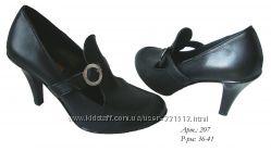 Красивые туфельки, 36-37р. КОЖА