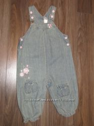 Комбинезон с вышивкой Baby фирмы Zara
