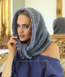 Снуд, шарф-хомут, все цвета, 7дней