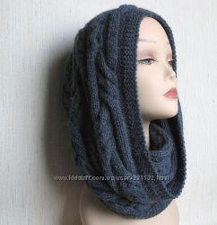 Снуд, шарф-хомут, все цвета