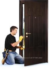Профессиональная установка межкомнатных дверей в Харькове