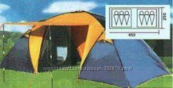 Палатки туристич. 6-ти местн. Coleman 1909, 1002,  2907, 1500, 1901