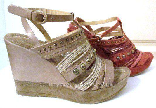 Женские кожаные босоножки, производитель Италия, суперскидки