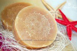 Шампуневое мыло с нуля Янтарный бриз