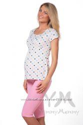 Пижамы с бриджами беременным кормящим разные модели