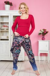 Пижамы разные с брюками беременным и кормящим