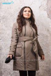 Большой выбор зимних курток 3в1 беременным для слингоношения