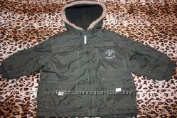 Куртка демисезонная на утеплении р 98  Impidimpi для мальчика отличное сост