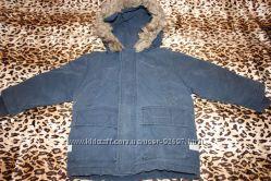Куртка зимняя S. Oliver р 92 для мальчика очень теплая