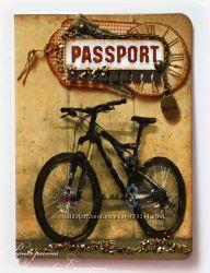 обложки на паспорт серия вело ручная работа с объемными элементами