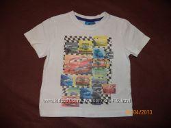 футболки для мальчика 9-12мес