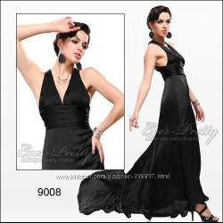 Платье вечернее Ever-Pretty - черное, М