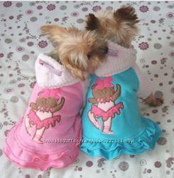 Курточка-платьице для модной собачки