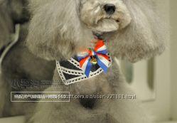 Элегантный воротничок-платок для собаки