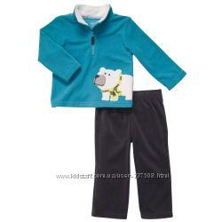 Флисовый костюм на мальчика Carters, разные