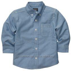 Рубашки Carters, OshKosh, Crazy8