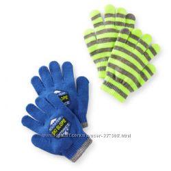 Варежки, перчатки Картерс 2 пары в наборе