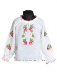 Гольфы, вышиванки, кофточки, блузочк, майки для мальчиков и девочек Корнет.