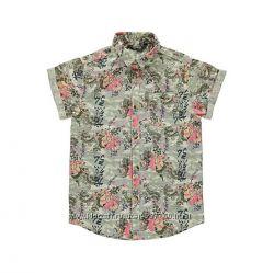 Летняя рубашка оригинальной расцветки