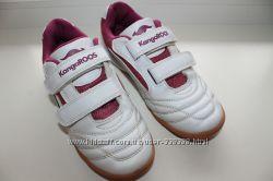 кожаные кроссовки KangaROOS 35 р по стельке 21. 5 см