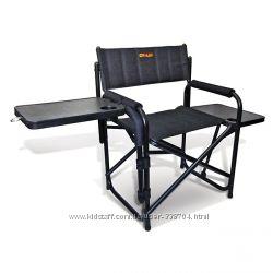 Раскладной мягкий стеганый стул с двумя столешницами