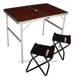 Стол раскладной с двумя стульчиками