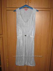 Платье  Elle серое