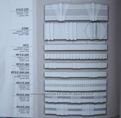 Шторная тесьма контактные ленты велькро, гардинные, универсальные, прозрачн
