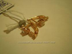 Бесподобные золотые серьги для девочки