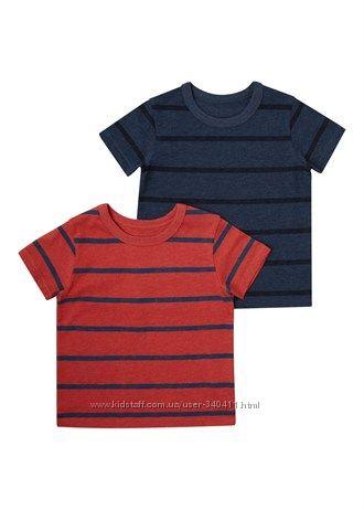 Новые футболки Matalan на 4-5 лет, рост 104-110 см