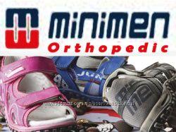 Первые шаги с правильной ортопедической обувью- MINIMEN orthopedic оригинал