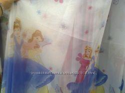Гардины в детскую Винкс, Тачки, Принцессы