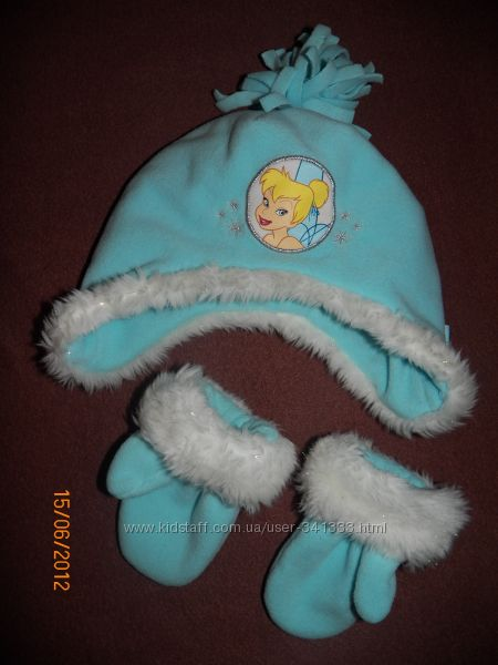 шапочка и варежки для вашей принцесски