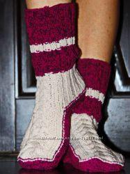 Продам вязаные носочки